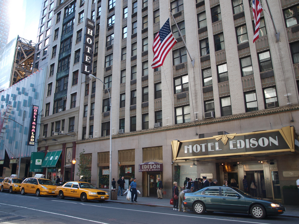 With a stay at Hotel Edison, you'll be centrally located in New York, just a 3-minute walk from Broadway and 6 minutes by foot from Times Square. This 4-star hotel is mi ( km) from Rockefeller Center and mi ( km) from Central Park.4/5(33).
